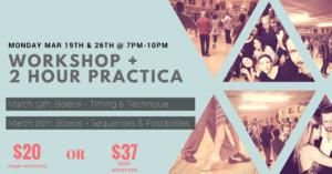 Workshop & Practica (Boleos) @ Lavelle Hall | Tampa | Florida | United States