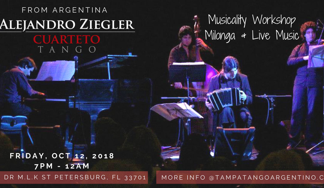MILONGA with LIVE ORCHESTRA