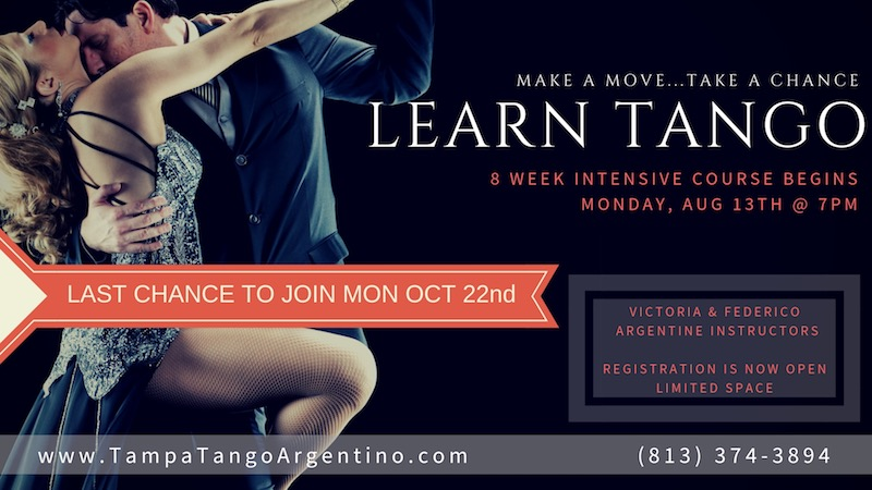 ** NEW ** Tango: 8-Week Intensive Beginner Course