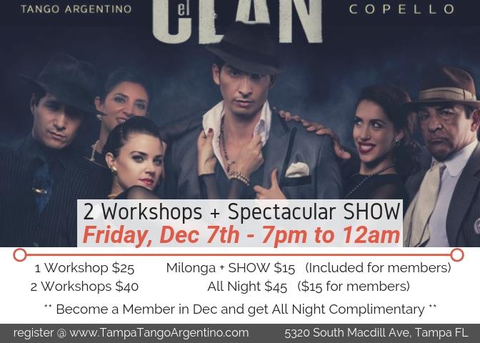 Special Event – CLAN COPELLO