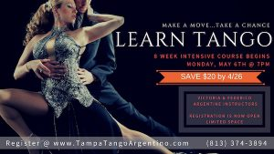 ** NEW ** Tango: 8-Week Intro to Tango @ Lavelle Hall | Tampa | Florida | United States