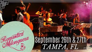 La Romantica Milonguera Outdoor Concert @ WaterWorks Park | Tampa | Florida | United States