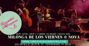 La Romantica Milonguera GALA MILONGA @ NOVA 535 | St. Petersburg | Florida | United States