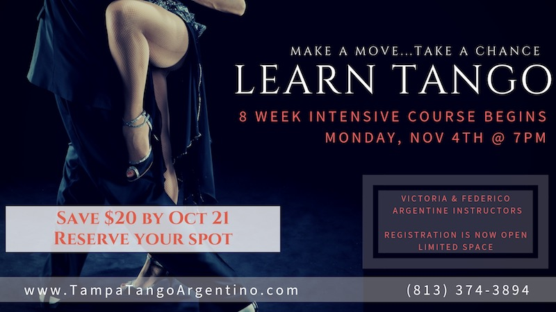 ** NEW ** Tango: 8-Week Intro to Tango