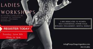 Ladies Workshops (3 hours) @ Brucie Klay's Dance Center | Tampa | Florida | United States